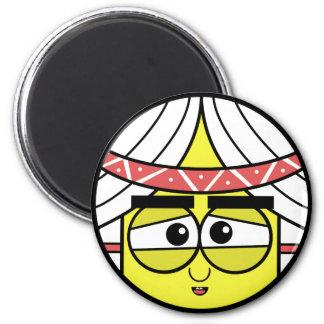 Native Face Magnet