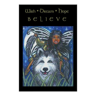 Native Faery Posters