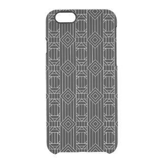 Native Fauxed Black Clear iPhone 6/6S Case