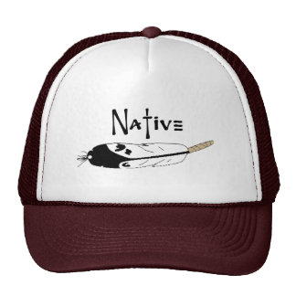 Native Feather Cap
