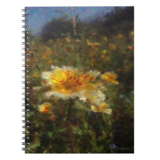Native Flower Meadow Spiral Notebook