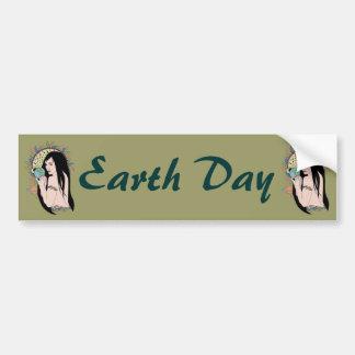 Native Gaia Car Bumper Sticker