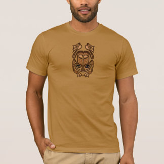 Native Haida Art Frog - brown T-Shirt