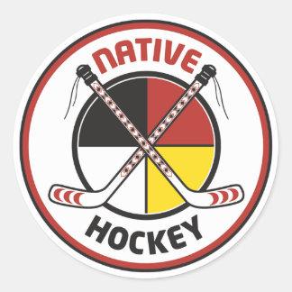 Native Hockey Stickers