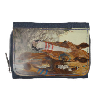 Native Indian horse Wallet