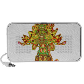 Native Indian India Mask Ghost Spirits Culture fun iPod Speakers
