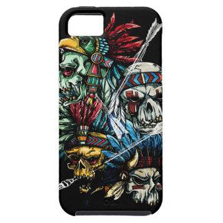 Native Indian Skull Skeleton iPhone 5 Case