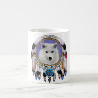 Native Indian Wolf Spirit Coffee Mug