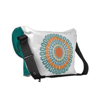 Native-Inspired custom messenger bag