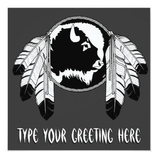 Native Invitations Personalized Native Art Cards