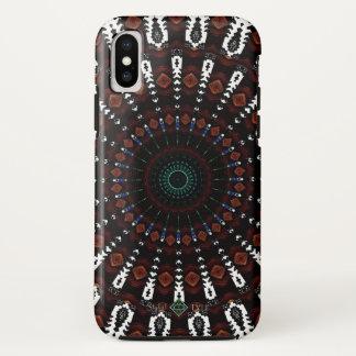 Native Mandala iPhone X Case