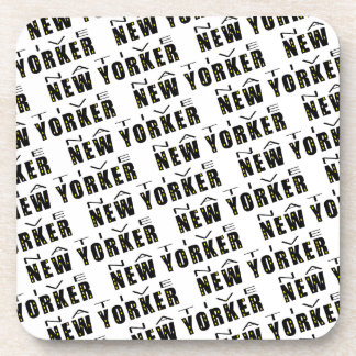Native New Yorker Drink Coasters