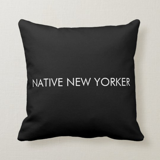 Native New Yorker Cushion
