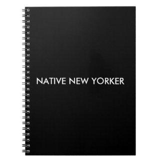 Native New Yorker Spiral Notebook