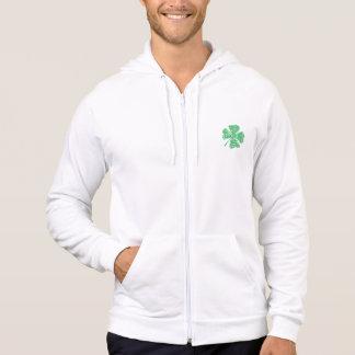 Native shamrock hoodie