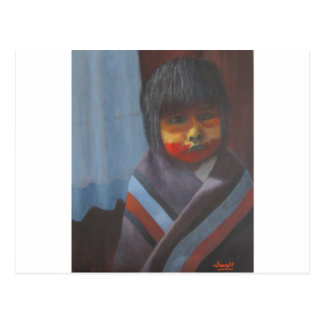 Native Stripes Postcard