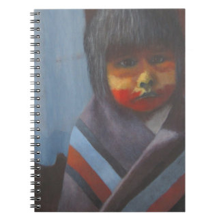 Native Stripes Spiral Notebook