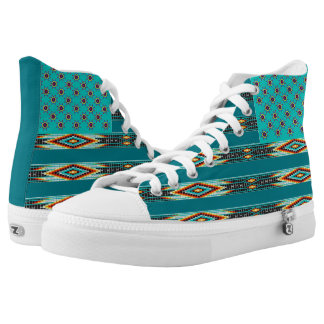 Native Styled American Flag Shoe Printed Shoes