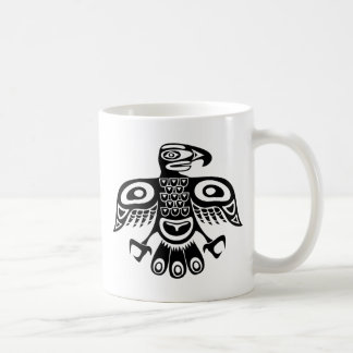 Native totem bird coffee mug
