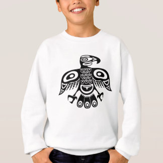 Native totem bird sweatshirt