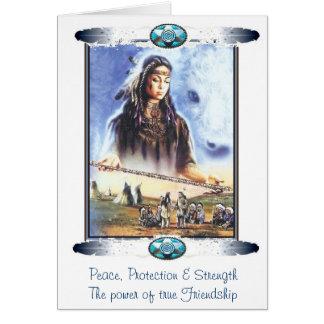 Native Totem Cards: Friendship Card