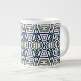 Native Tribal Jumbo Large Coffee Mug