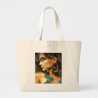 Native Woman Jumbo Tote Bag