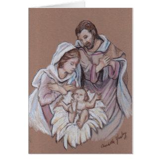 Nativity Art Note Card