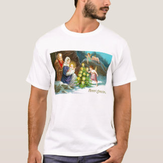 Nativity in the snow T-Shirt