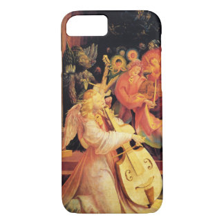 NATIVITY ,MUSIC MAKING ANGELS - MAGIC OF CHRISTMAS iPhone 8/7 CASE