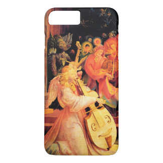 NATIVITY ,MUSIC MAKING ANGELS - MAGIC OF CHRISTMAS iPhone 8 PLUS/7 PLUS CASE