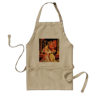 NATIVITY,MUSIC MAKING ANGELS - MAGIC OF CHRISTMAS STANDARD APRON