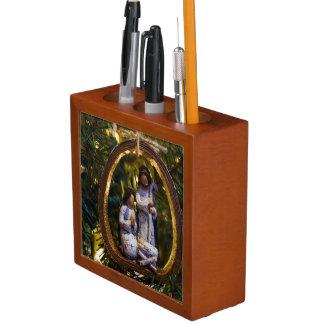 Nativity Ornament Desk Organiser