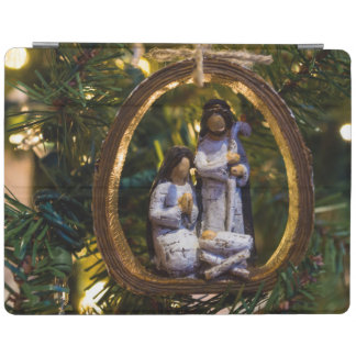 Nativity Ornament iPad Cover