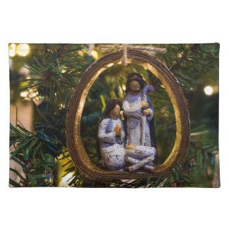 Nativity Ornament Placemat