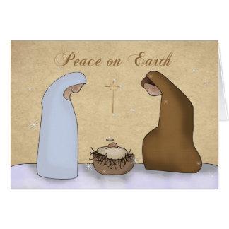 Nativity, Peace on Earth Christmas Cards