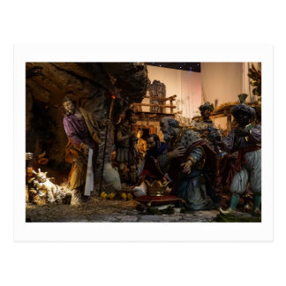 Nativity Scene at the Vatican Postcard