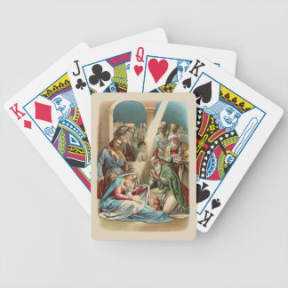 Nativity Scene Bicycle Playing Cards