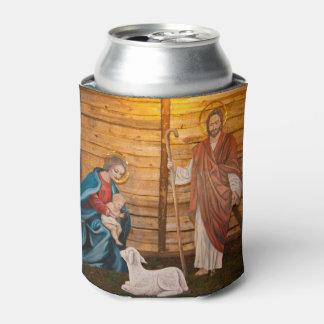 Nativity scene can cooler