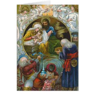"""""""Nativity Scene"""" Card"""
