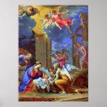 Nativity Scene Charles Poerson 1665 Poster