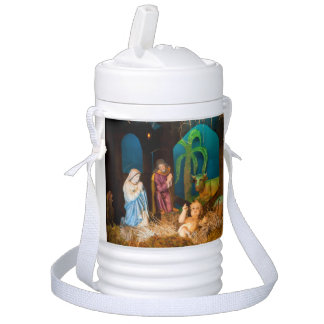 Nativity scene cooler