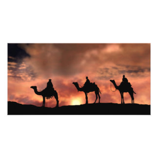Nativity Scene Gifts for Christmas Picture Card