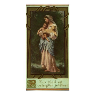 Nativity Scene Gifts for Christmas Photo Card