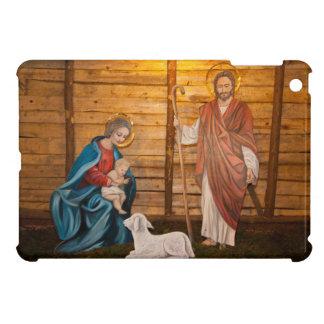 Nativity scene iPad mini cover