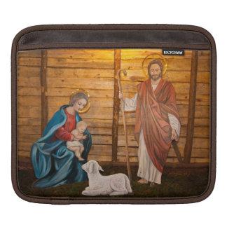 Nativity scene iPad sleeve