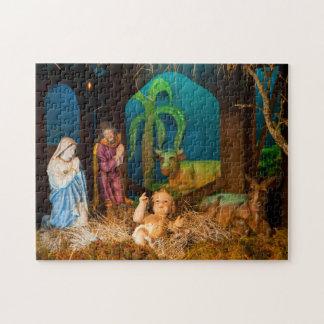 Nativity scene jigsaw puzzle