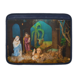 Nativity scene MacBook sleeve