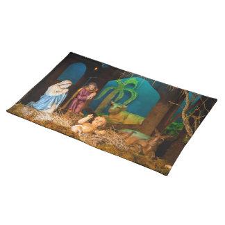 Nativity scene placemat