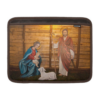 Nativity scene sleeve for MacBook air